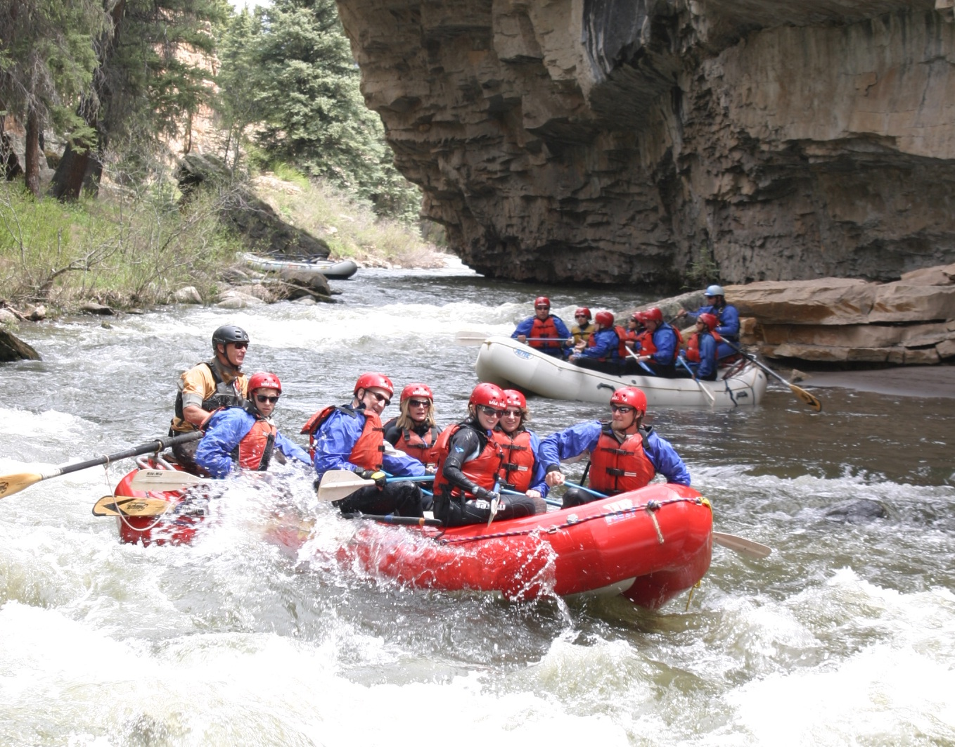 Piedra River Rafting Trip 1 Day Colorado Whitewater
