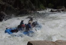 Big Splashes on the Piedra River