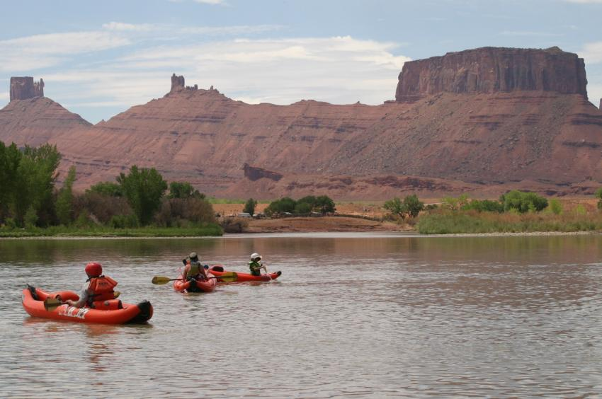 Colorado River Kayaking