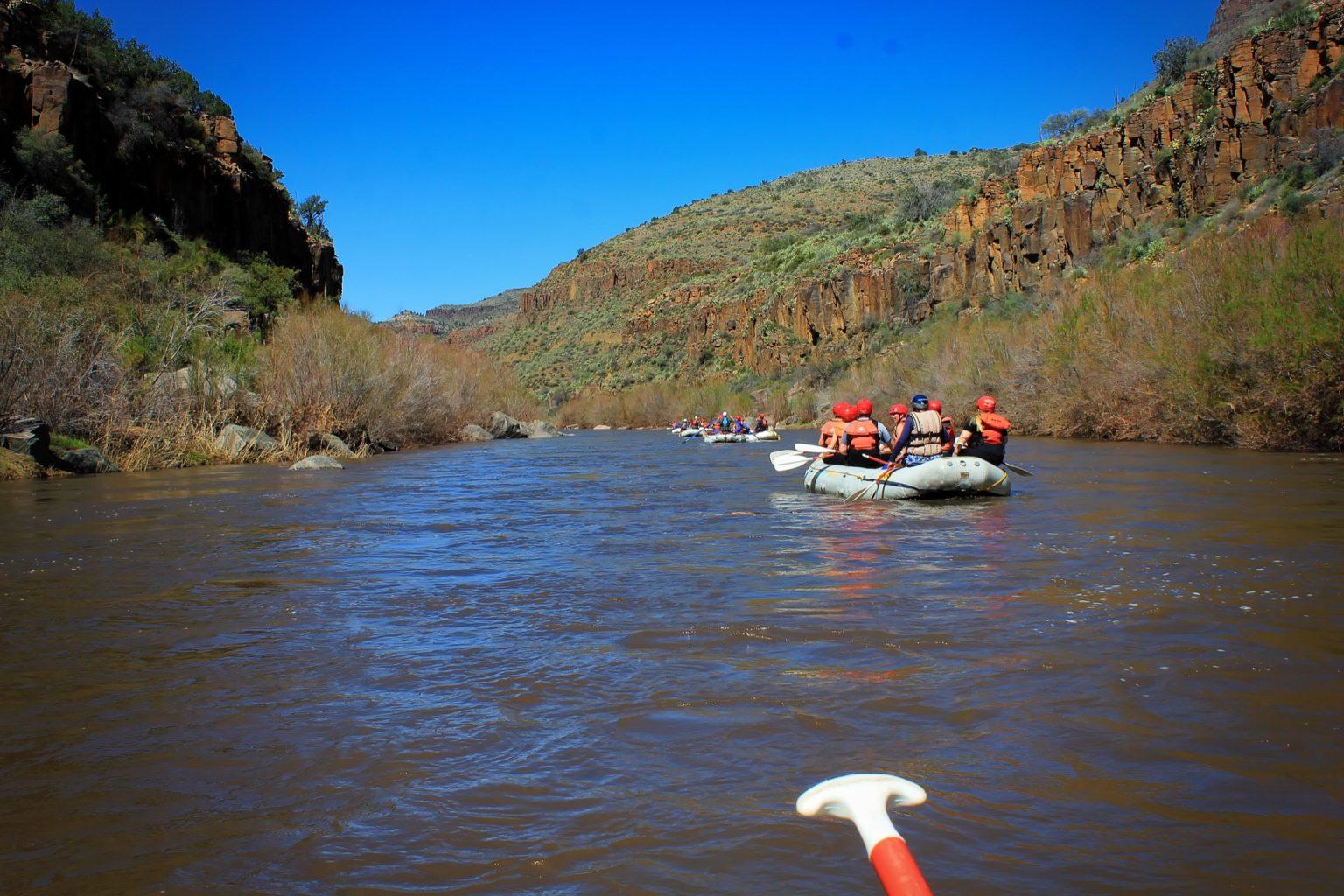 Arizona Rafting, White Water Rafting AZ, Salt and Verde Rivers