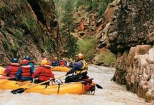 Rafting on the Piedra River