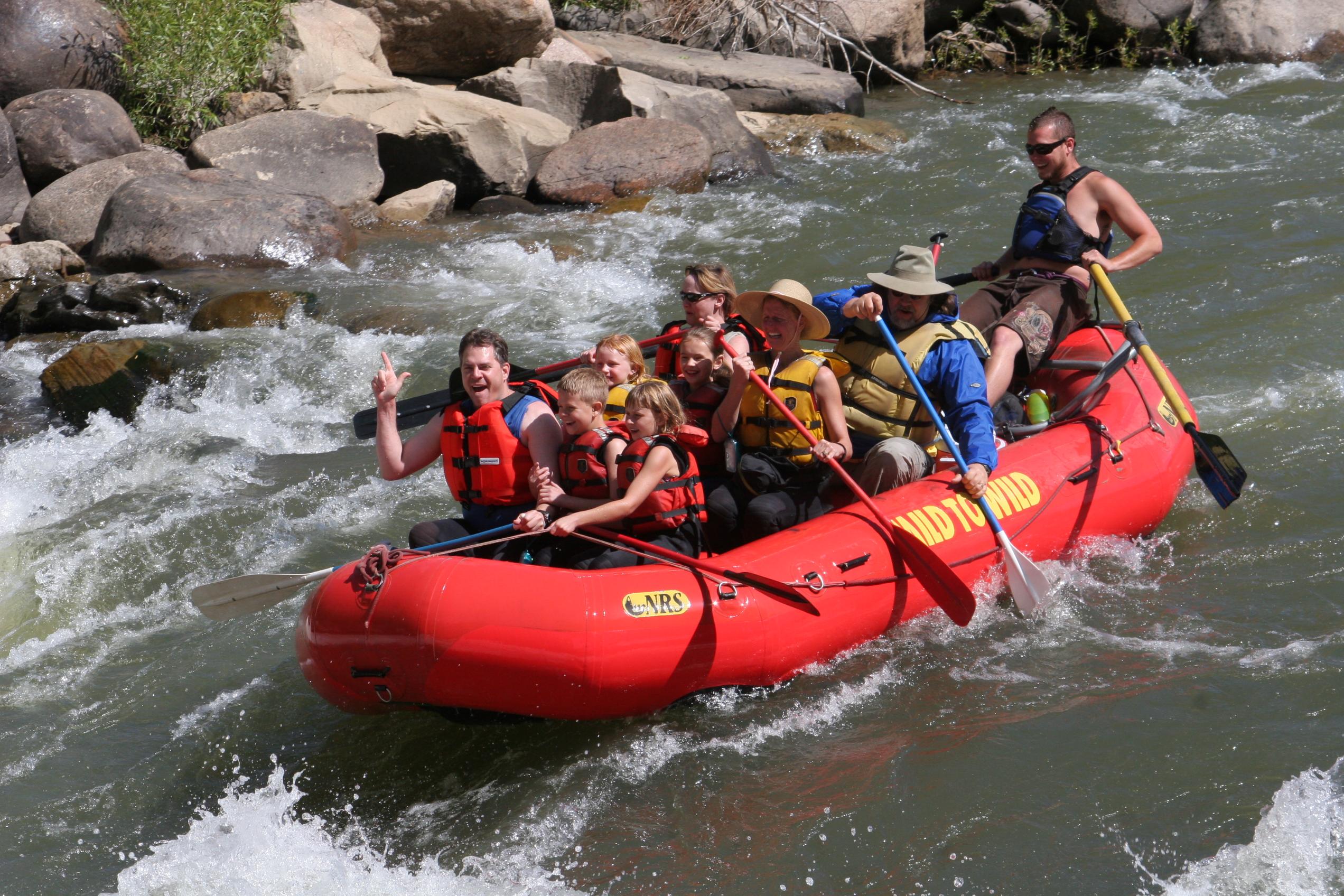 Lower Animas River Rafting