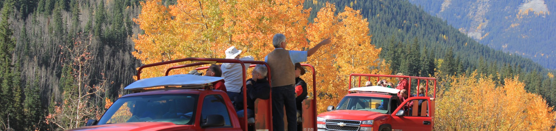 Trucks, Guides & Fall Colors