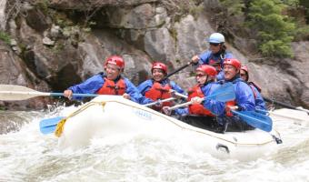 Upper Piedra River Rafting