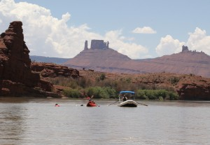 Boats in Moab