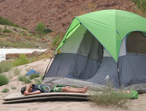 Camping on a Colorado River Rafting Trip