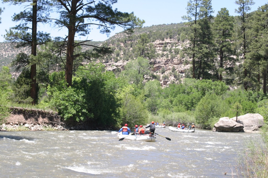 San Miguel River in Southwest Colorado