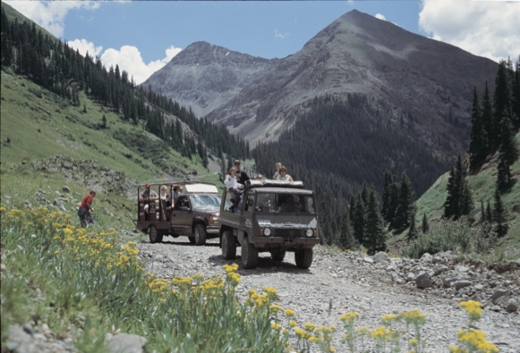 Colorado Jeep Tours in Silverton, CO