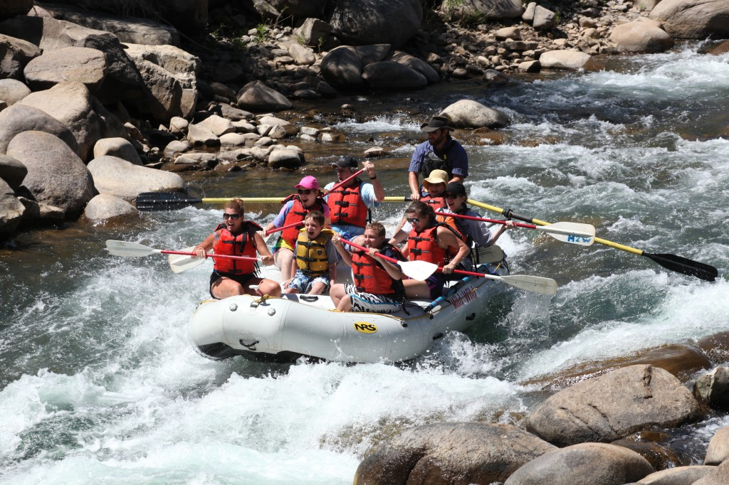 Lower Animas River Rafting