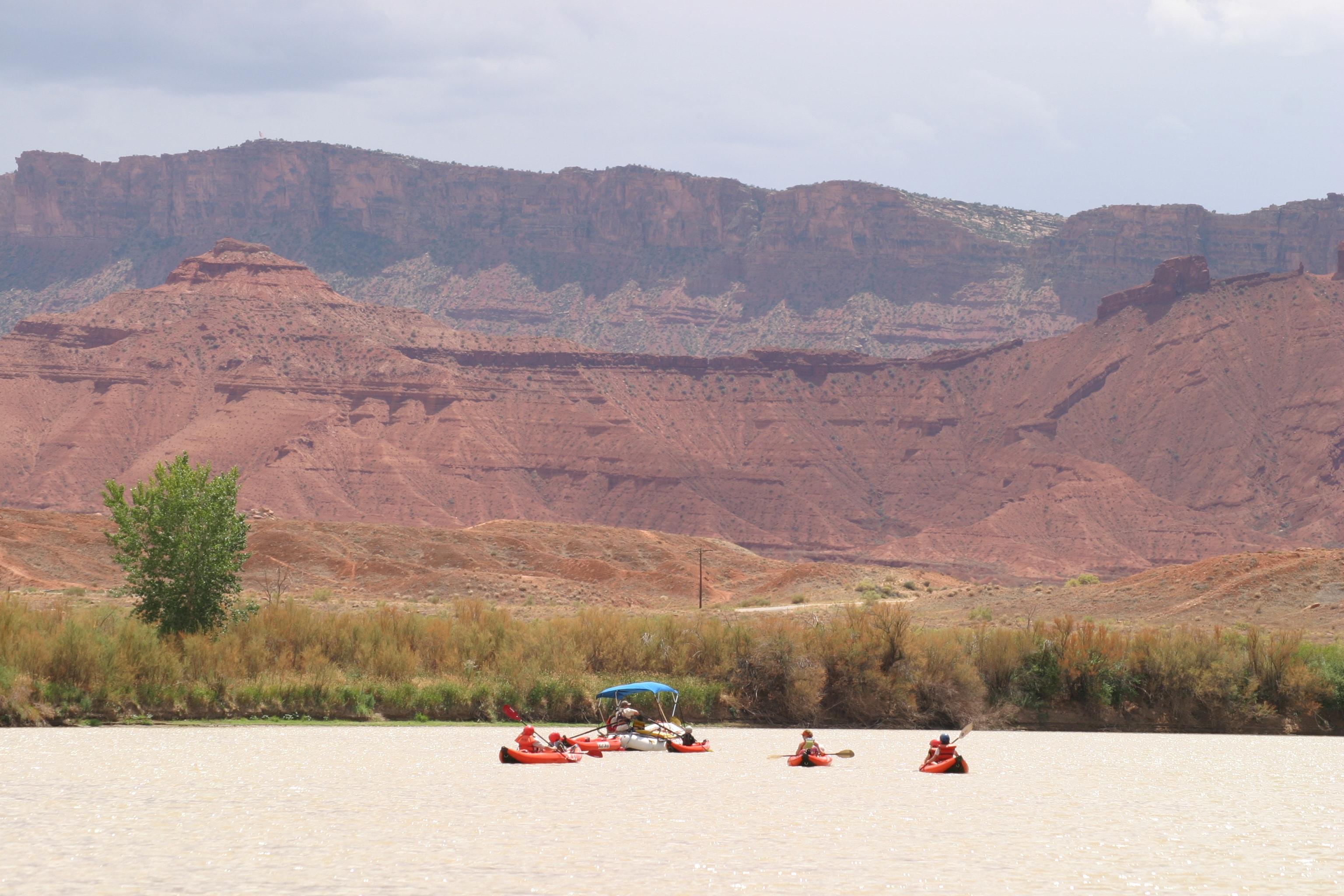 Kayaking Utah