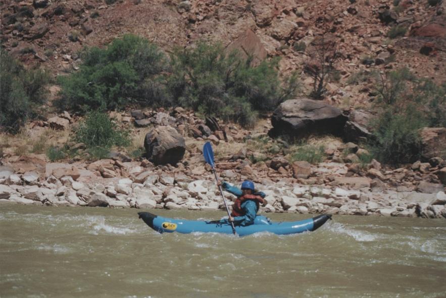 Kayaking Moab