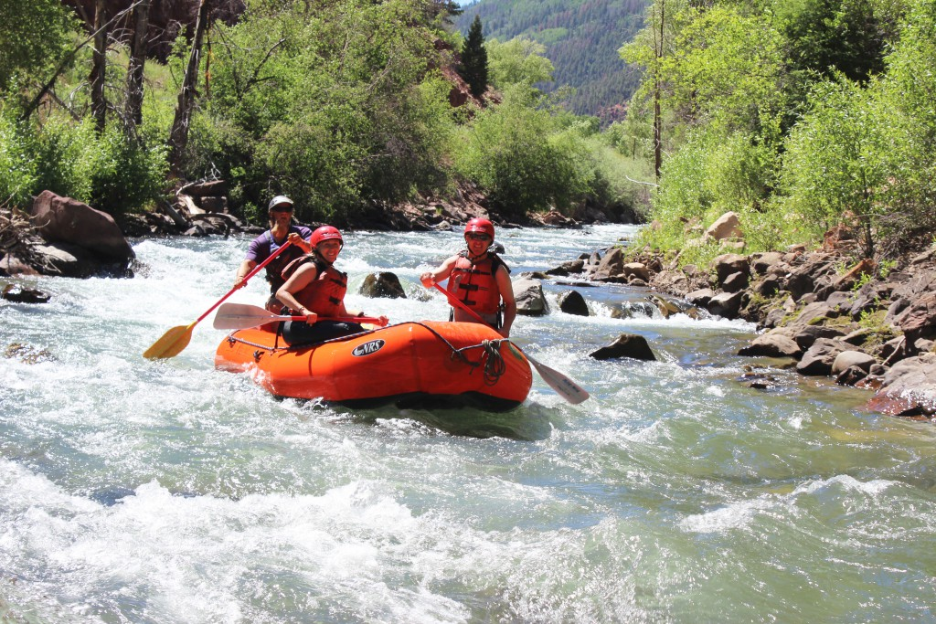 Whit Water Rafting in Colorado