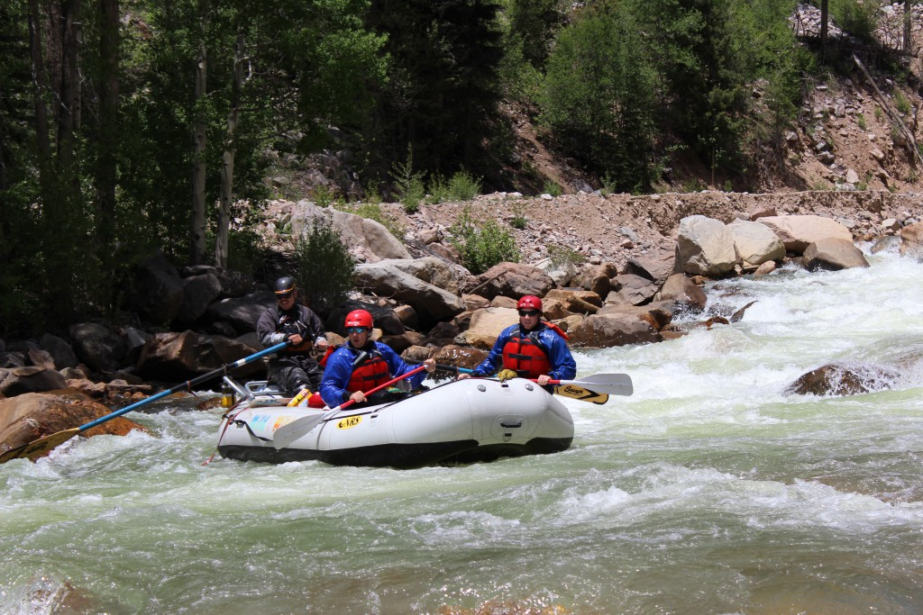 Upper Animas Rafting