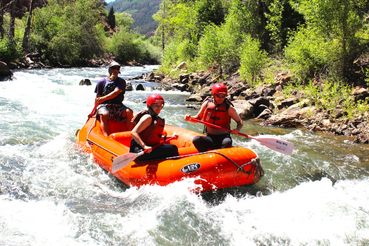 Whitewater Rafting Telluride