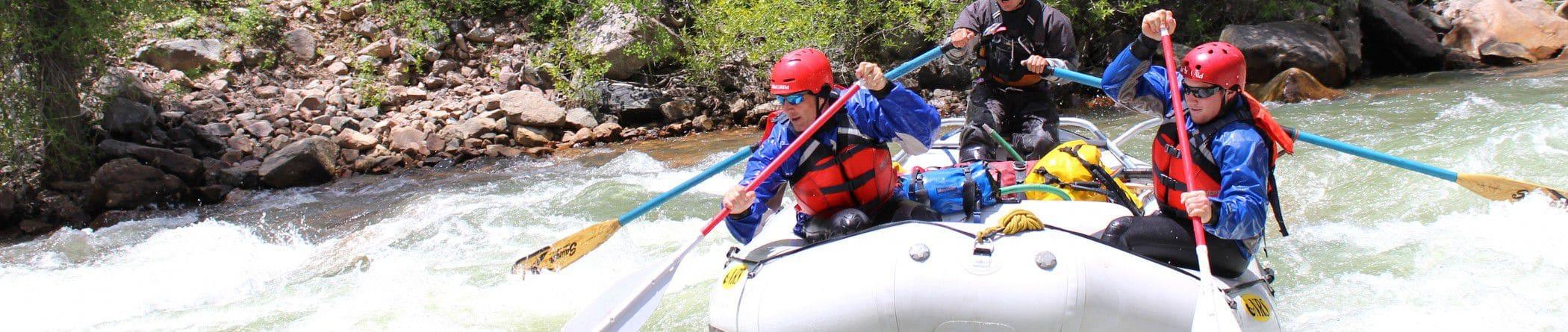 Mild 2 Wild Rafting