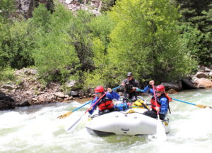 Upper Animas River Silverton CO - Mild to Wild
