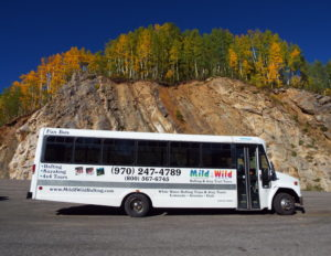 Charter Bus Durango Colorado - Mild to Wild